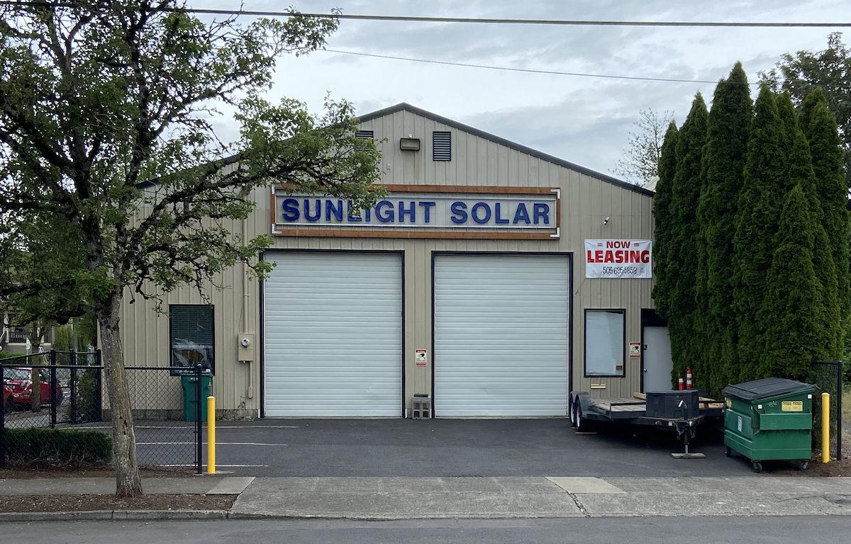 Sunlight Solar Closing Location