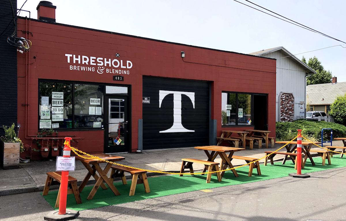 Threshold Creates a Parking Plaza