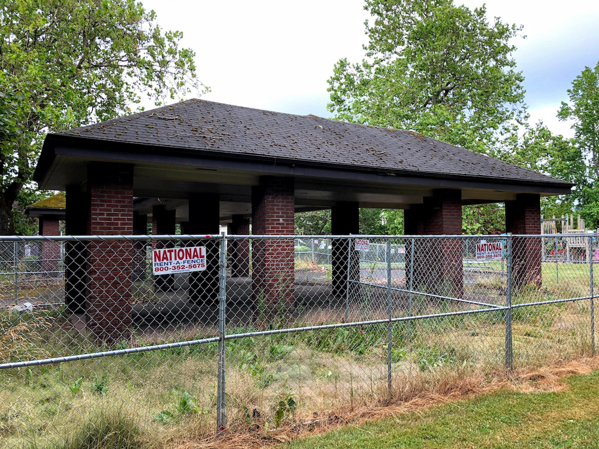 New Park Picnic Shelter in 2021