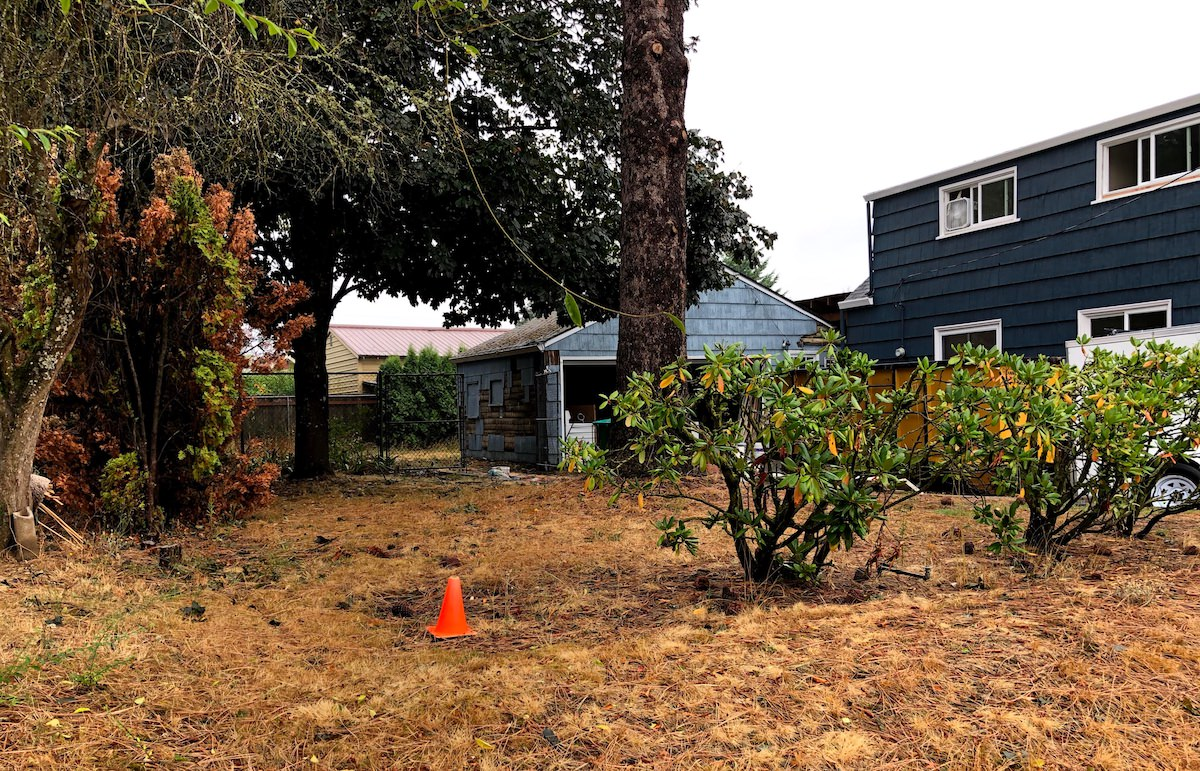 Garage Demo Leads to Lot Sale