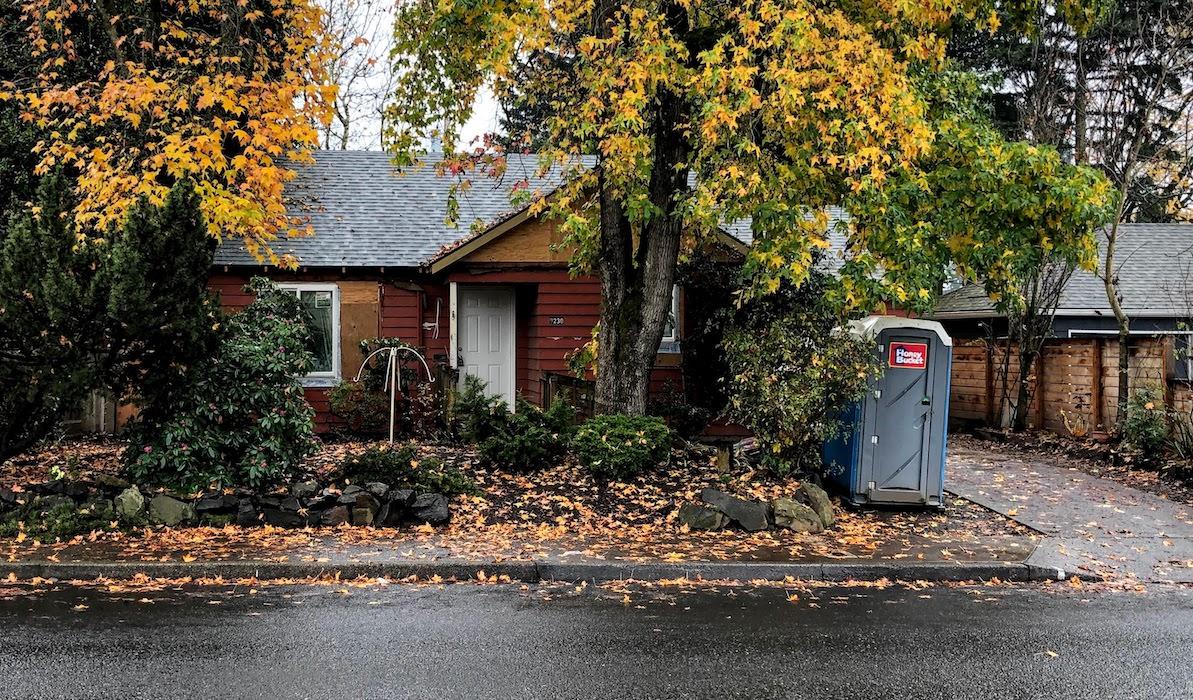 Fire Damage Remodel on Washington