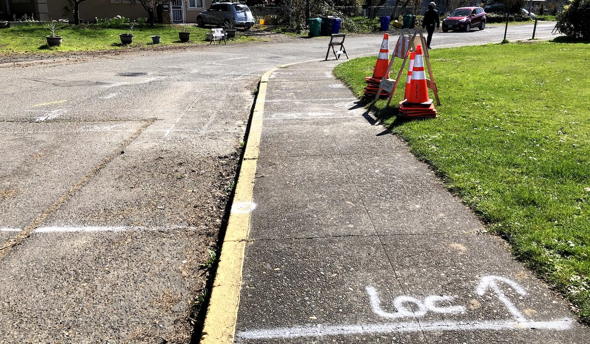Curb Ramps at SE 87th and Lincoln