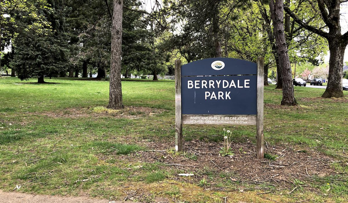 Skateboarding at Berrydale Park