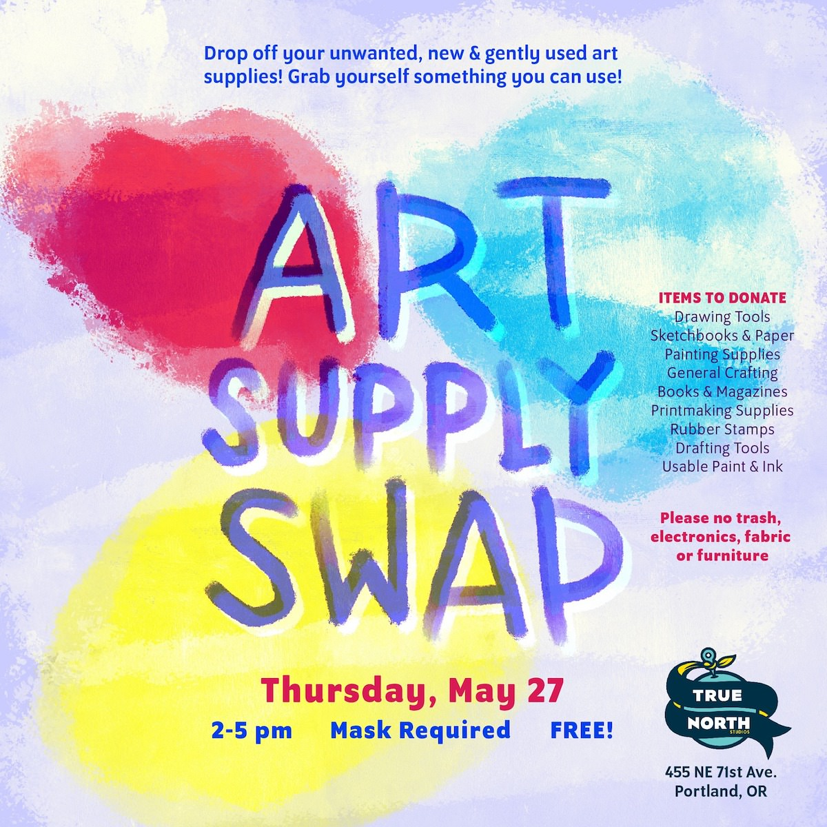 Art Supply Swap Today