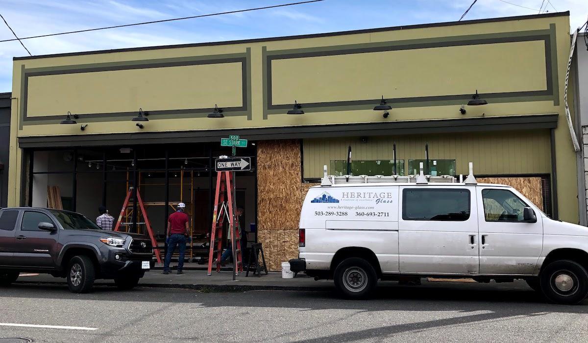Dual Storefront Remodel on SE Stark